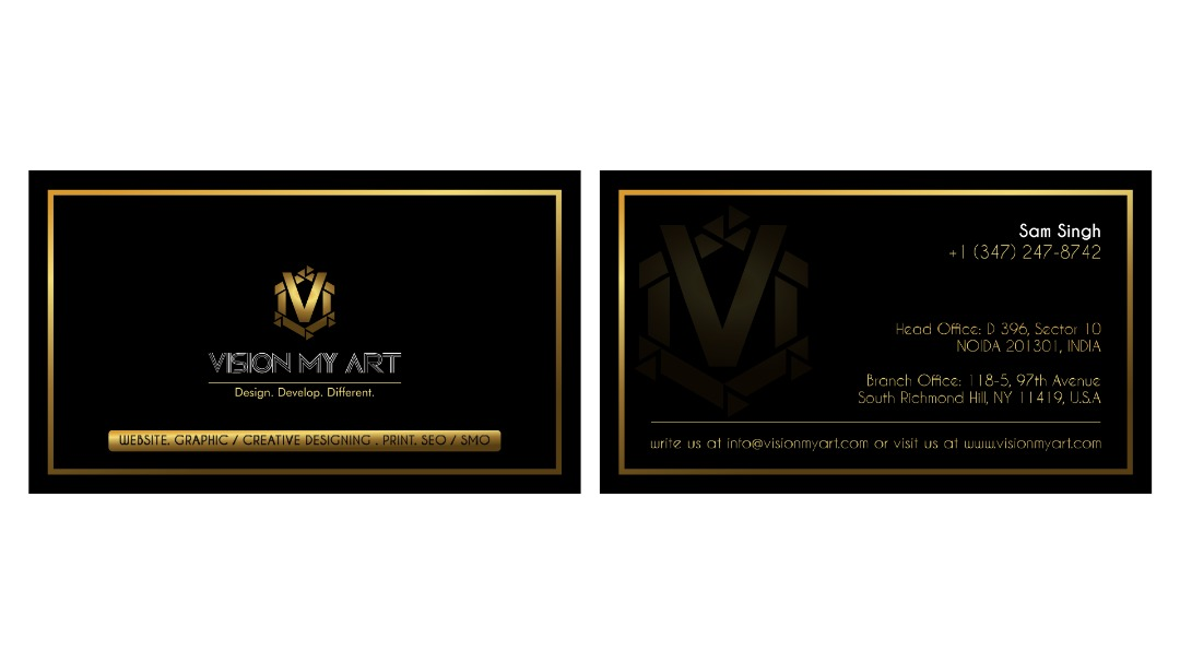 Vision my art inc business cards page website in just 24 hours home our work business cards reheart Images